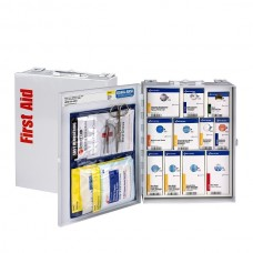 25-Person SmartCompliance Medium Food Industry Smart Compliance First Aid Kit, Metal