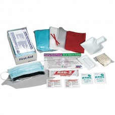 Bodily Fluid Clean-Up Kit w/ Disposable Tray