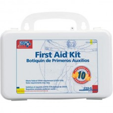 10-Person Bulk First Aid Kit w/ Gasket