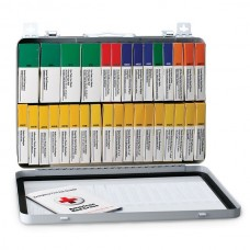 36 Unit First Aid Kit, Metal Case