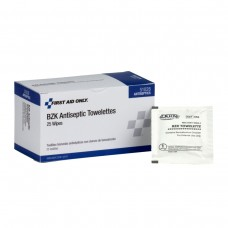 BZK Antiseptic Wipes, 25 Per Box