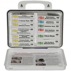 16-Unit, First Aid Kit, Plastic