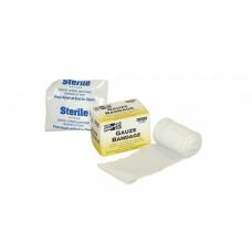 "2""x4 yd. Sterile Stretch Gauze, 1 per Box"