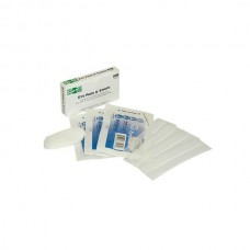 Sterile Eye Pads, Box of 4 Pads and 4 Adhesive Strips