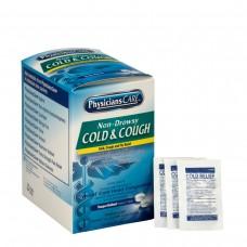 Non-Drowsy Cold & Cough Tablets, 2 Pkg/125 ea