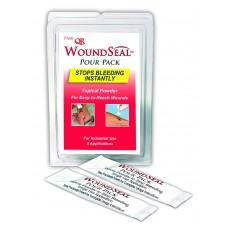 Wound Seal Blood Clot Powder, Pour Packs, 2 Each
