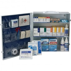 3-Shelf, 100-Person ANSI A+ First Aid Station