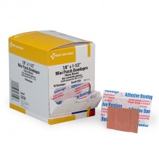 "7/8""x1.5"" Heavy Woven Fabric Bandages, 50 per Box"