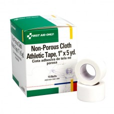 "1""x5 yd. Cloth Athletic First Aid Tape, 10 Per Box"