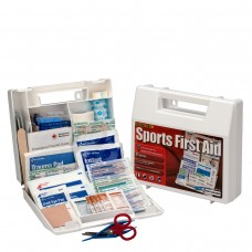 10 Person Sports First Aid Kit, Plastic Case