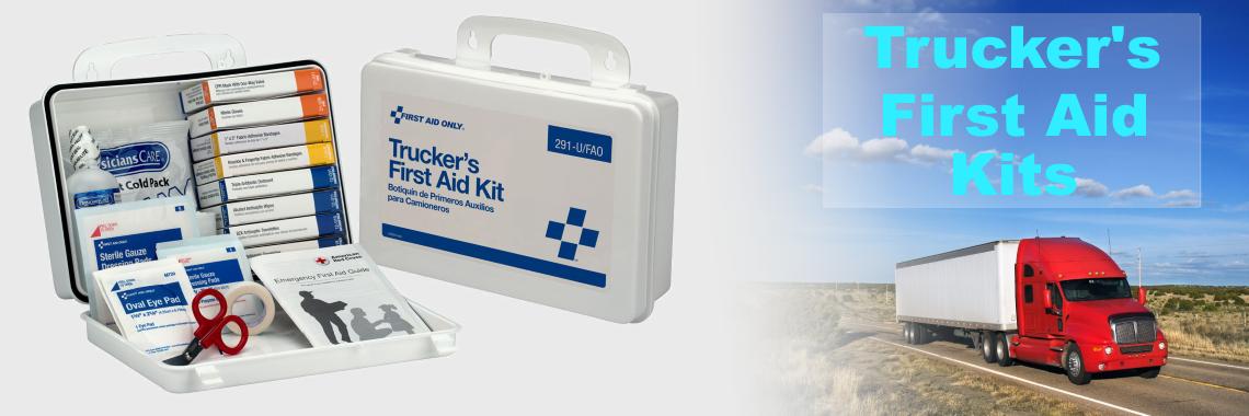 Trucker's First Aid Kits